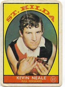 1968 A Scanlens (32) Kevin NEALE St. Kilda