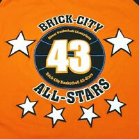 Brick City All Stars Jersey Official Streetball Championship # 43 Sz Xl