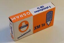 OSRAM Vacublitz universal XM 1B, 5 Stück Blitz-Birnen boxed/originalverpackt