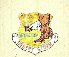 Military Patch - Desert Storm Operation