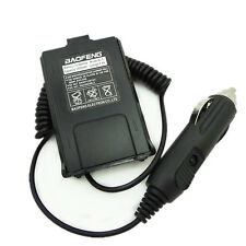 12v Car Charger Battery Eliminator Adapter for Baofeng Uv5r Uv-5r 5ra Radio