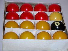 "POOL BALLS CASINO  BALLS 2 1/4"" NEAR MINT CONDITION HYATT LIFETIMER ORIGINAL BOX"