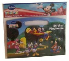 Disney Mickey Mouse Clubhouse Sticker Playhouse Activity Scene