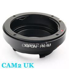 Kipon Pentax K PK mount Lens to Leica M L/M Live View Adapter M 240 Ricoh A12