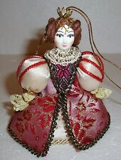 Beautiful Russian Doll ~ Christmas Ornament ~ QUEEN ~ NEW