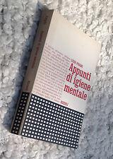 FRIGHI Luigi, Appunti di Igiene Mentale, 1971, Rizzoli.