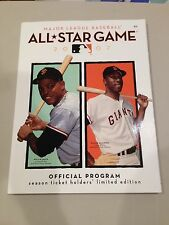 2007 MLB All Star Game Program - Willie Mays Willie McCovey on cover.