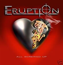 "Eruption ""All Screwed Up"" 2009 Hard Melodic Rock CD"