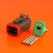 Deutsch DT SERIE 4 VIE CONNETTORE KIT dt06-4s-ce06 C / W Pins & wedglock