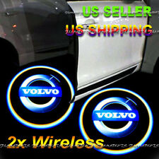 2x Wireless Ghost Shadow Laser Projector LED Light Courtesy Door Step VOLVO