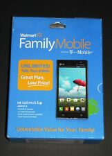 """New Sealed T-Mobile/Family Mobile LG Optimus L9 4.5"""" Prepaid Android Smartphone"""