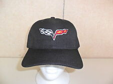 CHEVROLET CORVETTE HAT BLACK FREE SHIPPING GREAT GIFT