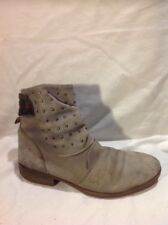 Kickers Grey Ankle Leather Boots Size 39