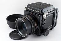 """EXC +5"" Mamiya RB67 Pro S Medium Format + 127mm f3.8 + 120 Film back Japan 7640"