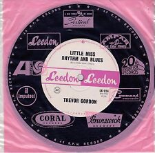 "Trevor Gordon-Little Miss Rhythm And Blues-7"" Single-1965-Leedon-LK-924-Bee Gees"