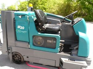Tennant M20 sweeper/scrubber L.P. Totally Serviced G.M. Eng. ONLY 1442hrs.