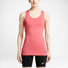 Nike Pro Hypercool Limitless Dri-Fit tank top - orange (peach) / grey