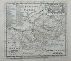 Somerset Antique Map 1759 Emanuel Bowen & Owen Hundreds Bristol Wells Somerton