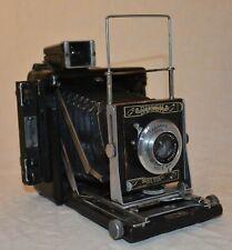 "BUSCH PRESS-MAN press camera, 2 1/4"" x 3 1/4"", 85mm"