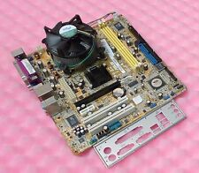 SCHEDA MADRE SOCKET 775 ASUS P5VD2 TVM/S + CPU INTEL CORE 2 DUO E4500 / 2,20GHz