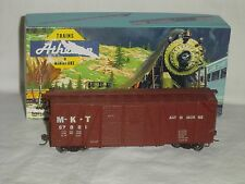 Athearn HO Scale MKT 40' Double Door Boxcar #67001 with KD Couplers