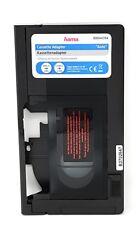 VHS-C to VHS Cassette vidéo Lecteur de cassette enregistreur Adaptateur Camcoder