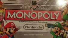 Nintendo Monopoly - Collector's Edition - NEW / SEALED   Hasbro