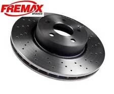 Mercedes SL500 W230 Front R / L Disc Brake Rotor Fremax Painted BD0417 NEW