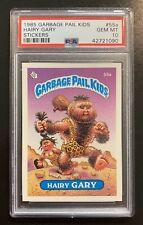 1985 Garbage Pail Kids OS2 Hairy Gary 55a PSA 10 GEM MINT-RARE MATTE TESSIE! TWT