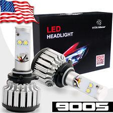2x 9005 HB3 LED Headlight Kit 80W 8000LM 6000K White High Beam Fog Light Bulbs