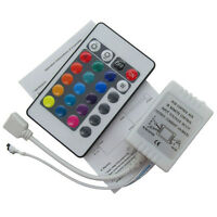 12V Nue 24 Key Mini IR Remote Controller For RGB 3528 and 5050 LED Light Strip^