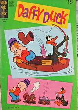 Daffy Duck Elmer Fudd #69 1971 Gold Key Comic Bronze Age VG- 3.5 15 Cent Cover