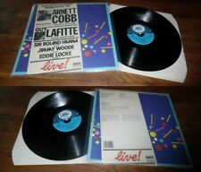 ARNETT COBB/GUY LAFITTE - Live At Deauville LP French Press Jazz Black&Blue