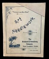 Art Needlework Brainerd & Armstrong New London Connecticut Vintage Catalog