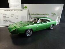 Danbury Mint 1969 Dodge Daytona 440 1:24 Scale Diecast Model Car Green