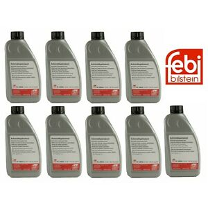9 Liters Pack Febi ATF Automatic Transmission oil Fluid For Mercedes 1955-02