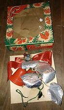 Vtg. Imperial Christmas Bell Lights IOB Working Order!!!