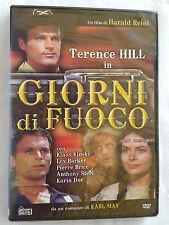 GIORNI DI FUOCO - dvd Hobby & Work - western - Terence Hill - sigillato - unico