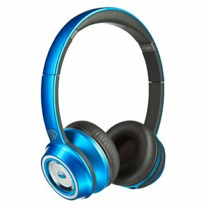 Monster® Ncredible N-Tune On-Ear Headphones Hardwired - Blue High Performance