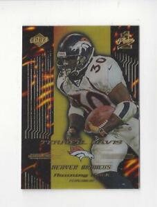 1999 Collector's Edge First Place Adrenalin #A5 Terrell Davis Broncos /1000
