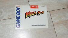 Mega Man: Dr. Wily's Revenge (Nintendo Game Boy 1991) Instruction Booklet Manual