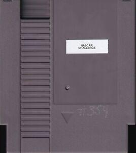BILL ELLIOTT'S NASCAR CHALLENGE (1991) nes nintendo no label us NTSC USA IMPORT