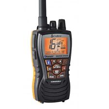 COBRA MR HH500 Floating Handheld VHF Marine Radio con Bluetooth (JIS7)