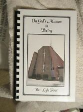On God's Mission in poetry Lyle Root Give Thanks Jesus Guiding LIght Three Books
