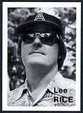 """LEE RICE"" CARD #108 ~ RARE MIKE MANDEL 1975 BASEBALL PHOTOGRAPHER TRADING CARD"