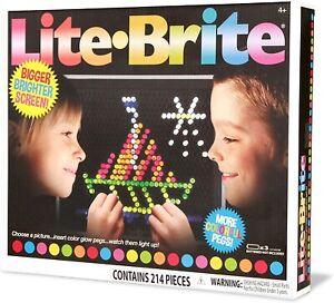 Basic Fun Lite-Brite Ultimate Classic Retro Vintage Toy Gift Girls Boys 4 +
