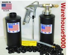Fluid Film Pro Gun w/2 empty Bottles 100 Rust Plugs & 1 Straight Spray Flex Wand