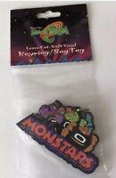 NOS Vintage Space Jam Looney Tunes Key-Pals Keychain Bag Tag NIP 1990s Gift