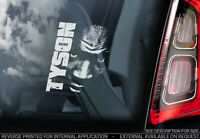 Mike Tyson - Car Window Sticker - Iron Boxing Champion Decal Bumper Sign - V03