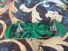 Illusion Skateboard Used But Complete Green Good Condition Ready To Ride
